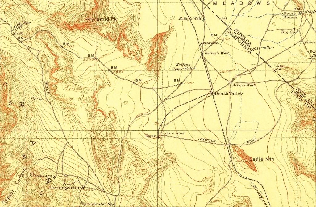 1910 Lila C Mine & Ryan w/ T&TRR Spur Line