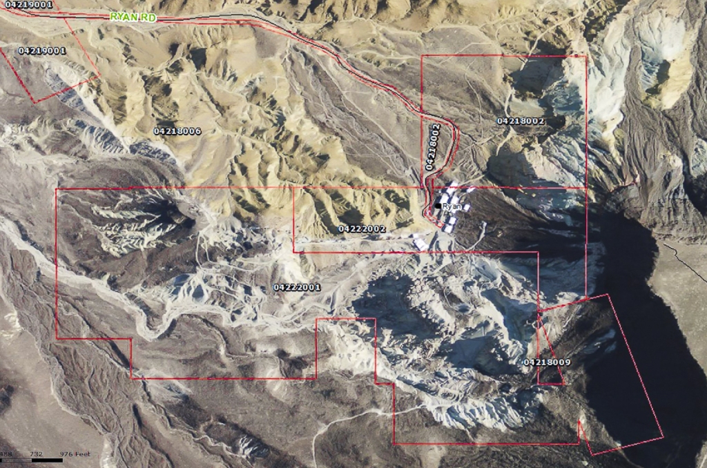 Inyo County Parcels Ryan Area 010213