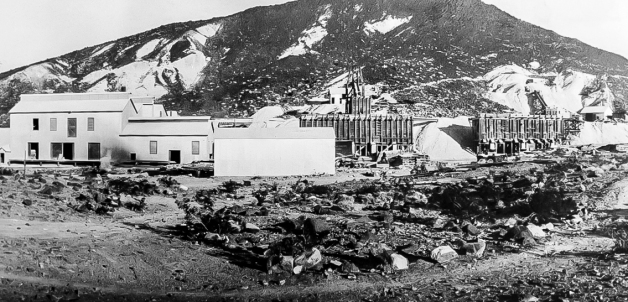 Lila C Borax Mine 1910 - Courtesy National Park Service, Death Valley National Park