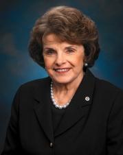 United States Senator Dianne Feinstein
